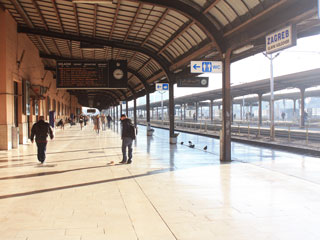 A train platform