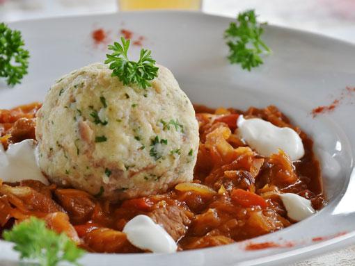 O prato de goulash