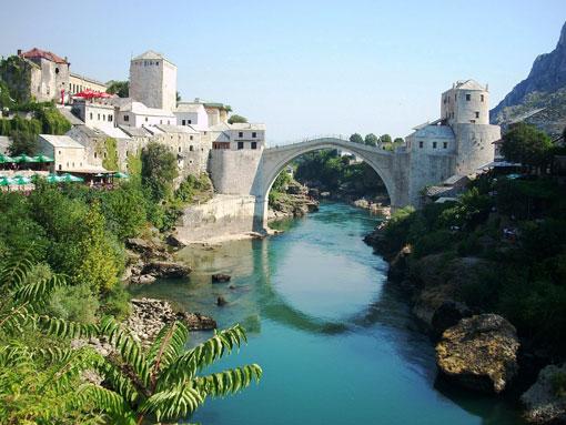 A ponte do Mostar