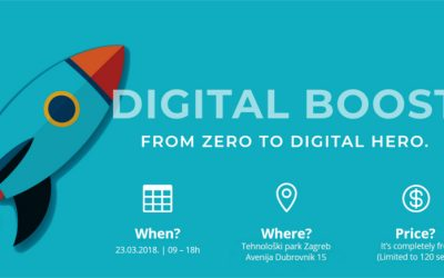 Digital Boost – Conferência em Zagreb