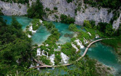 A natureza deslumbrante da Croácia