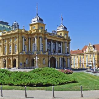 O prédio do Teatro Nacional