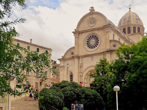 The cathedral in Šibenik