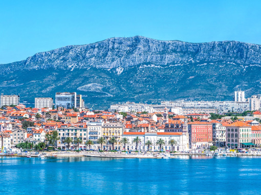 Panoramical view of Split