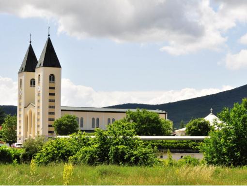 Igreja paroquial em Medjugorje
