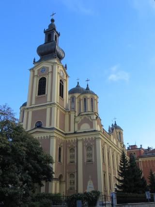 Igreja com uma torre