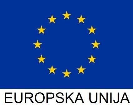 Zastava Europske unije s natpisom