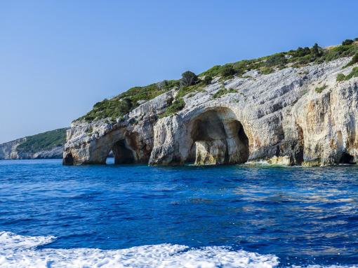 Uma gruta no mar
