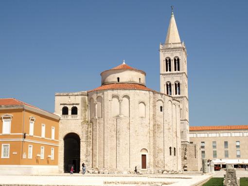 La iglesia de San Donato en Zadar